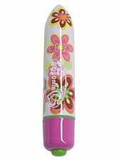 Mini-vibromasseur Ro-80mm Flower Power